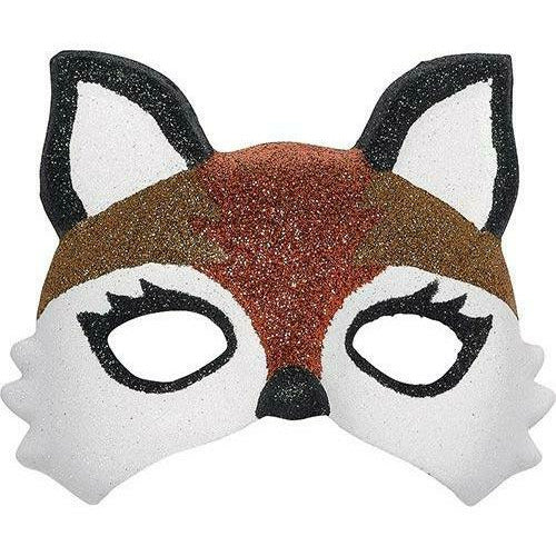 Child Glitter Fox Mask