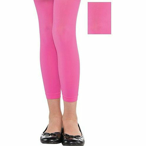 Child Pink Footless Tights