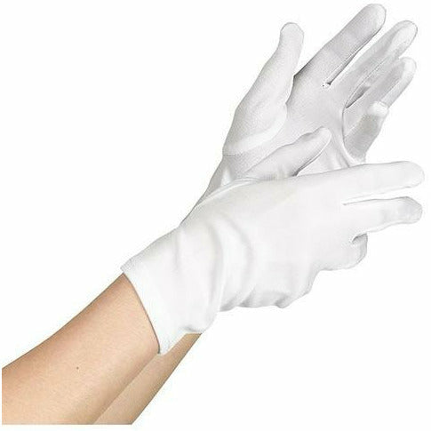 Child White Gloves