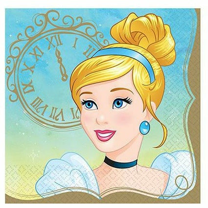 Princess Cinderella Lunch Napkins 16ct