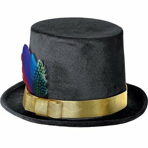 Colorful Feather Top Hat