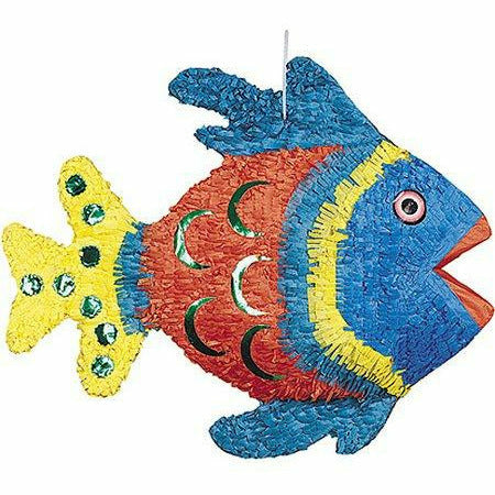 Angel-Fish Blue Pinata