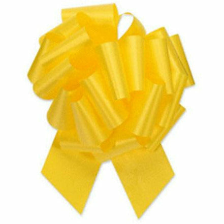 Daffodil Pull Bow 8in