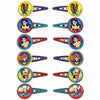 DC Super Hero Girls Hair Clips 12ct