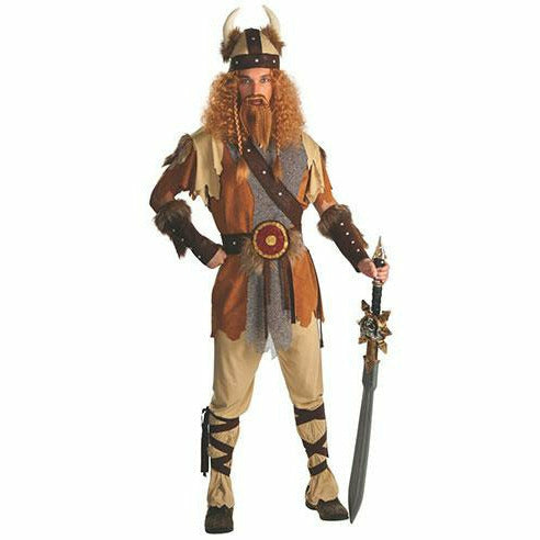 Mens Viking Warrior Deluxe Costume