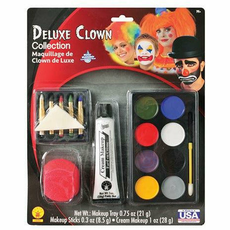Deluxe Clown Collection Makeup