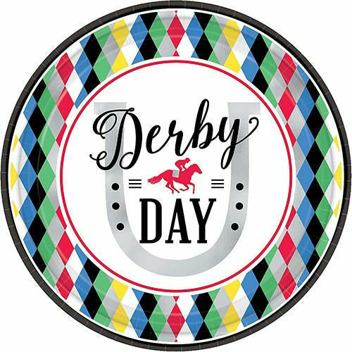 Harlequin Derby Day Lunch Plates 8ct