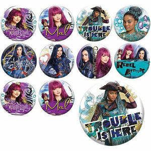 Descendants 2 Buttons 8ct