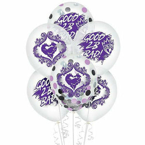 Descendants 3 Confetti Balloons 6ct