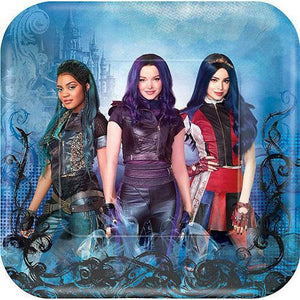 Descendants 3 Lunch Plates 8ct