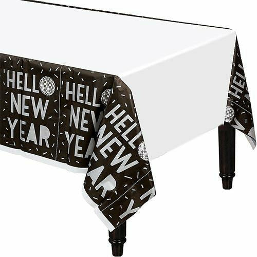 Disco New Year's Eve Table Cover 54x102
