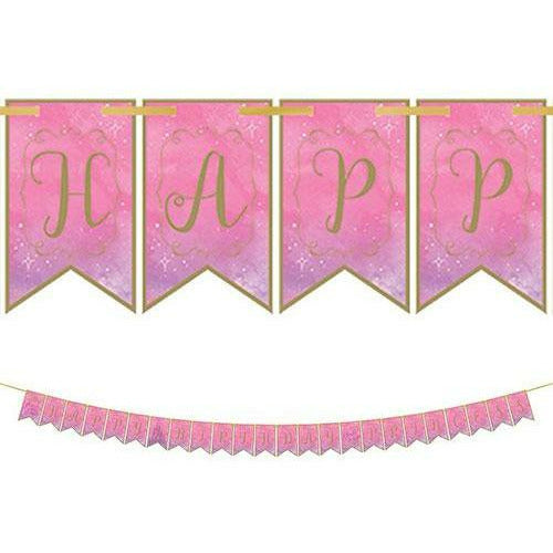 Disney Once Upon a Time Birthday Pennant Banner