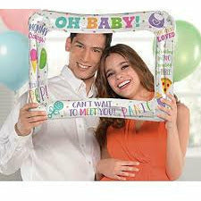 Inflatable Baby Shower Photo Frame Balloon