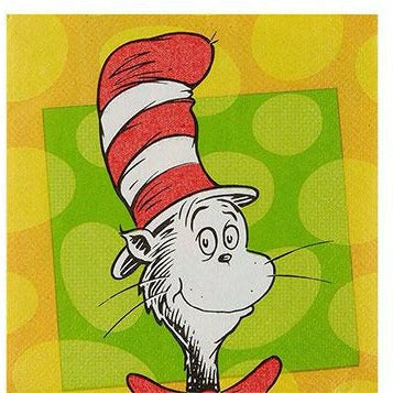 Dr. Seuss Beverage Napkins 16ct