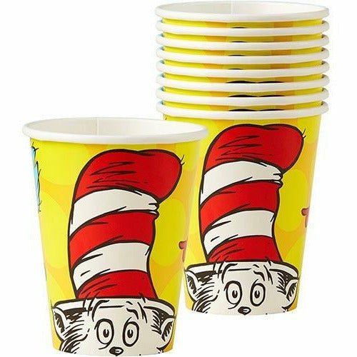 Dr. Seuss Cups 8ct