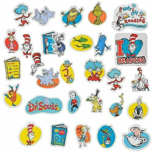 Dr. Seuss Books Cutouts 30ct