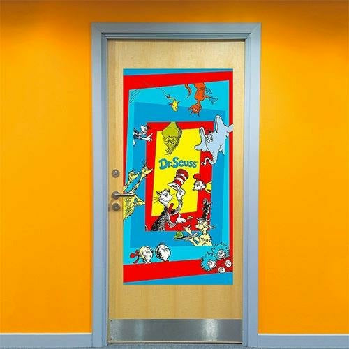 Dr. Seuss Door Cover