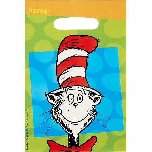 Dr. Seuss Favor Bags 8ct