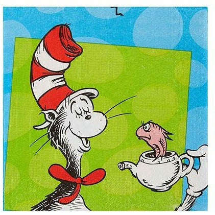 Dr. Seuss Lunch Napkins 16ct