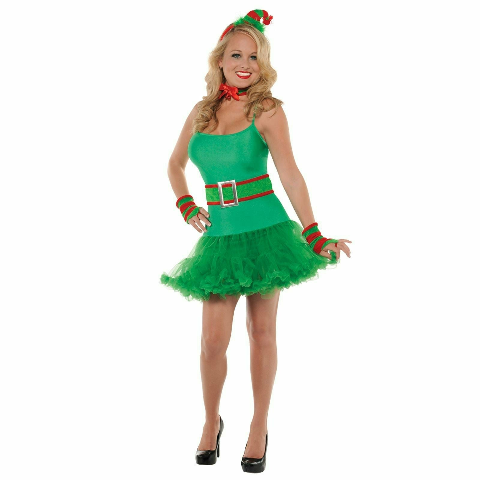 Womens Santa's Little Helper Costume Kit