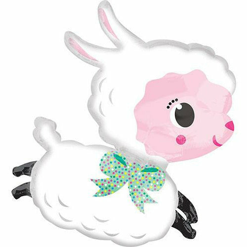 "Easter Lamby 28"" Mylar Balloon"