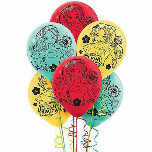 Elena of Avalor Balloons 6ct