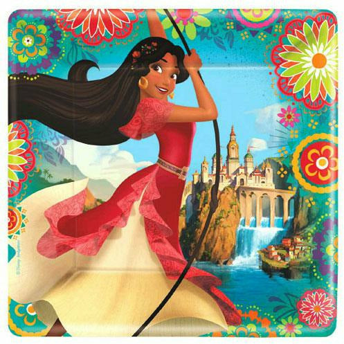 Elena of Avalor Lunch Plates 8ct