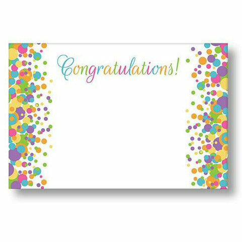 Congratulations Confetti Card