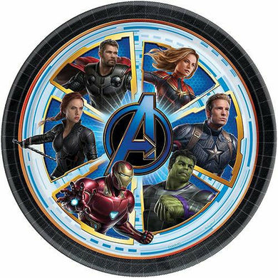 Avengers: Endgame Lunch Plates 8ct