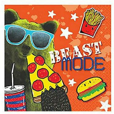 Epic Party Beverage Napkins 16ct