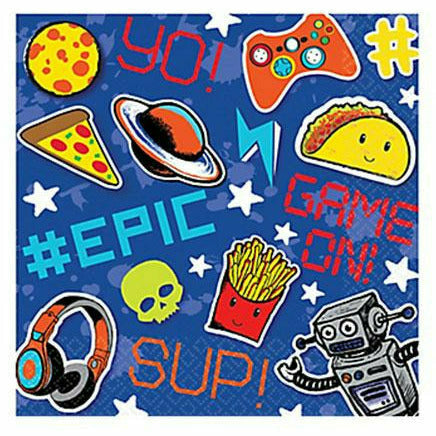 R1 Epic Party Lunch Napkins 16ct