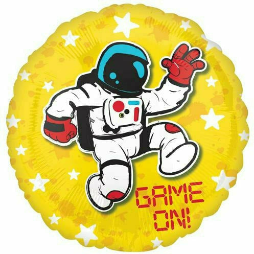 "Game On 17"" Mylar Balloon"