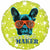 "Dog Trouble Maker 18"" Mylar Balloon"