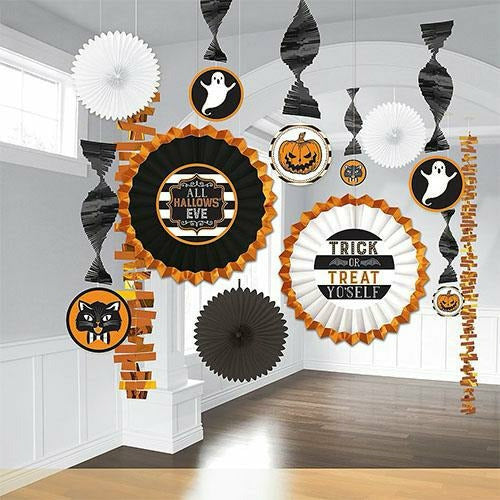 Hallows' Eve Room Decorating Kit 13pc
