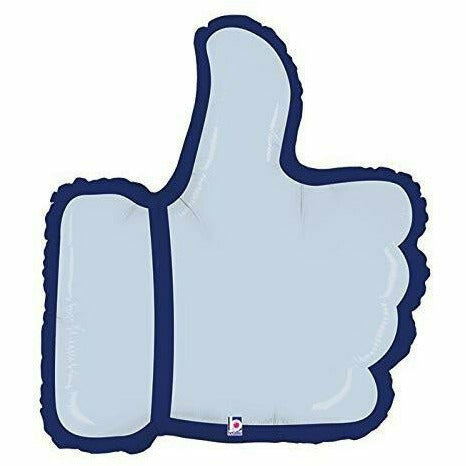 "*A012 Thumbs Up 28"" Mylar Balloon"