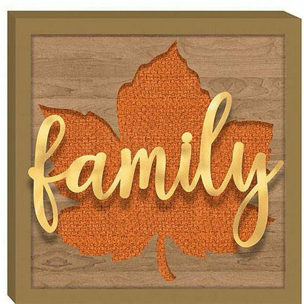 Family Leaf Sign