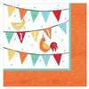 Friendly Farm Beverage Napkins 16ct