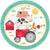 Friendly Farm Dinner Plates 18ct