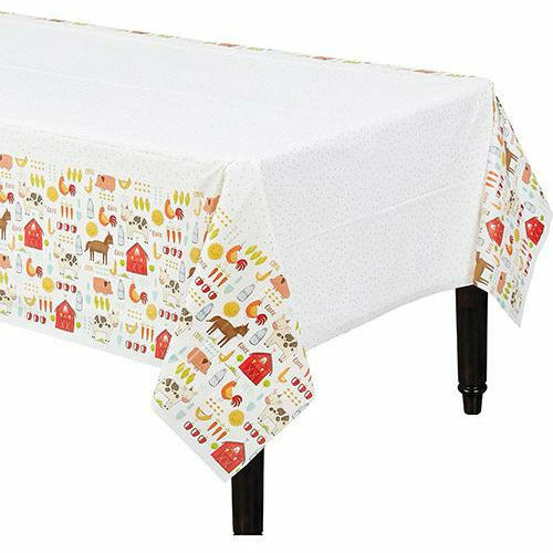Friendly Farm Table Cover