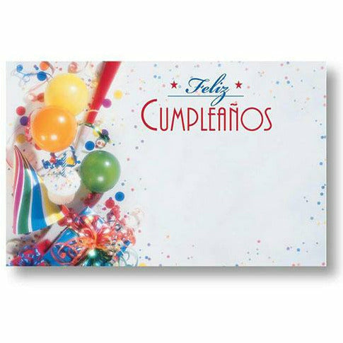 Feliz Cumpleanos Happy Birthday Card