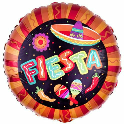 "Fiesta More Fun 18"" Mylar Balloon"