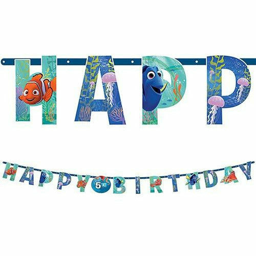 Finding Dory Birthday Banner Kit