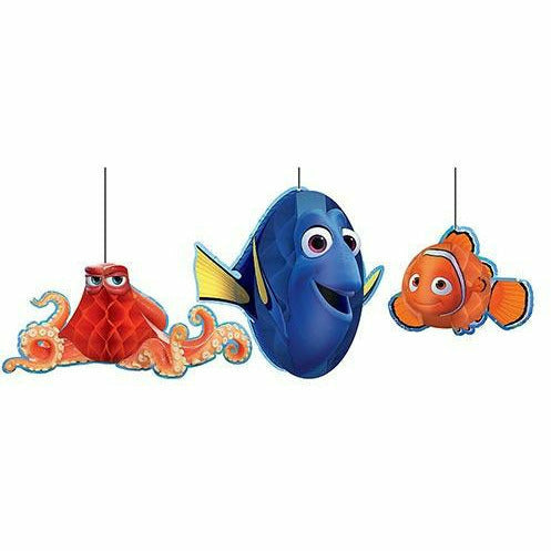 Finding Dory Honeycomb Balls 3ct