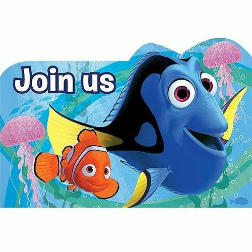 Finding Dory Invitations 8ct