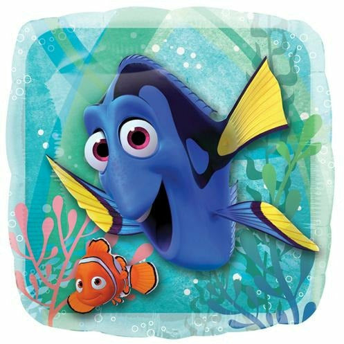 "201 Dory and Nemo Finding Dory 17"" Mylar Balloon"
