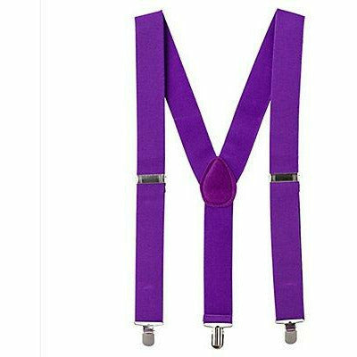 Suspenders Purple