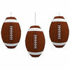 Football Paper Lanterns 3ct
