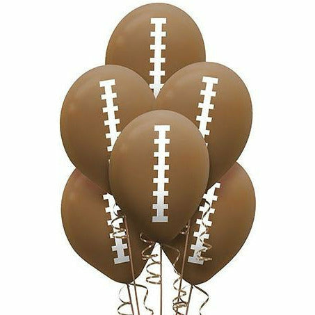 Football Balloons 6ct
