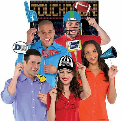 Football Photo Booth Kit 14pc