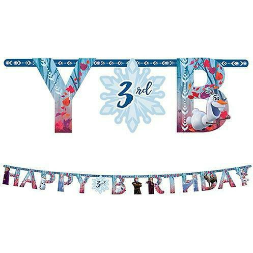 Frozen 2 Birthday Banner Kit